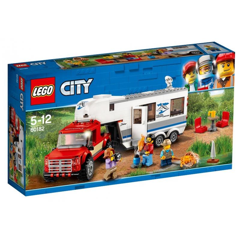 Pickup e Caravan - Lego City 60182