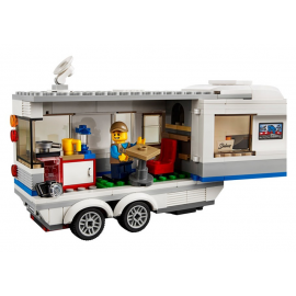 Pickup e Caravan - Lego City 60182
