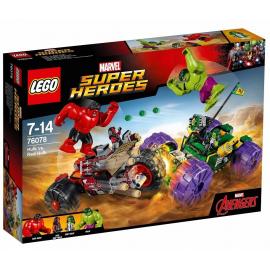 Hulk contro Red Hulk - Lego Marvel Super Heroes 76078