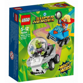 Mighty Micros: Supergirl™ contro Brainiac™ - Lego DC Super Heroes 76094