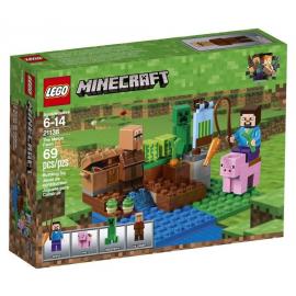 La fattoria dei meloni - Lego Minecraft 21138