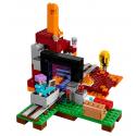 Il portale del Nether - Lego Minecraft 21143