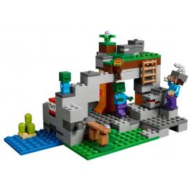 La caverna dello Zombie - Lego Minecraft 21141