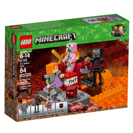 Lotta nel Nether - Lego Minecraft 21139