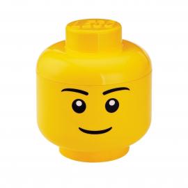 Contenitore Lego testa small maschio