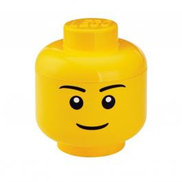Contenitore Lego testa small uomo