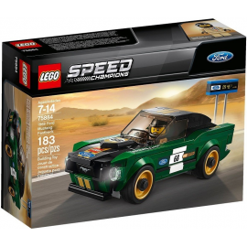 1968 Ford Mustang Fastback - Lego Speed Champions 75884
