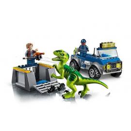 Camion per il soccorso di Velociraptor - Lego juniors 10757