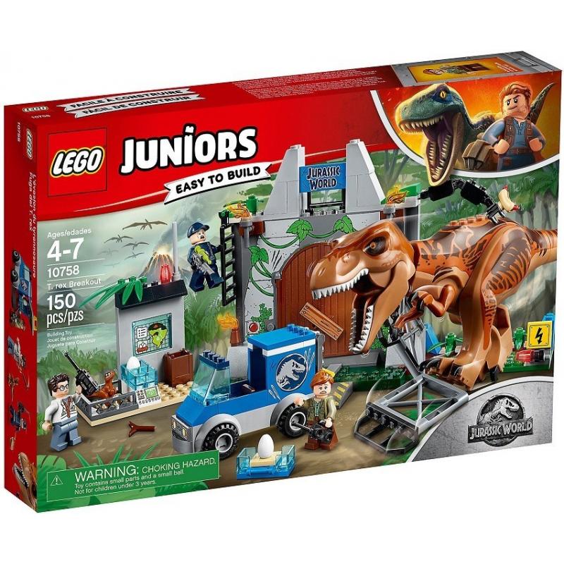 L'evasione del T. rex - Lego Juniors 10758