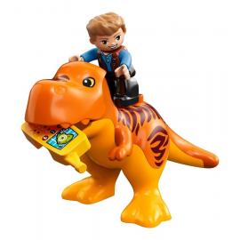 La torre del T. rex - Lego Duplo 10880