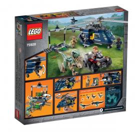 Inseguimento sull'elicottero di Blue - Lego Jurassic World 75928