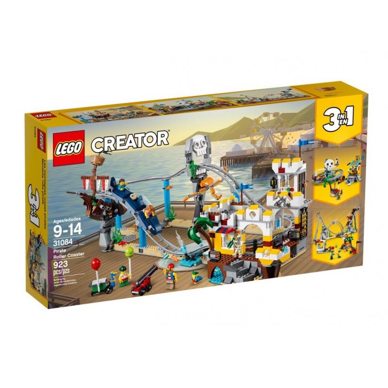 Montagne Russe dei pirati - Lego Creator 31084