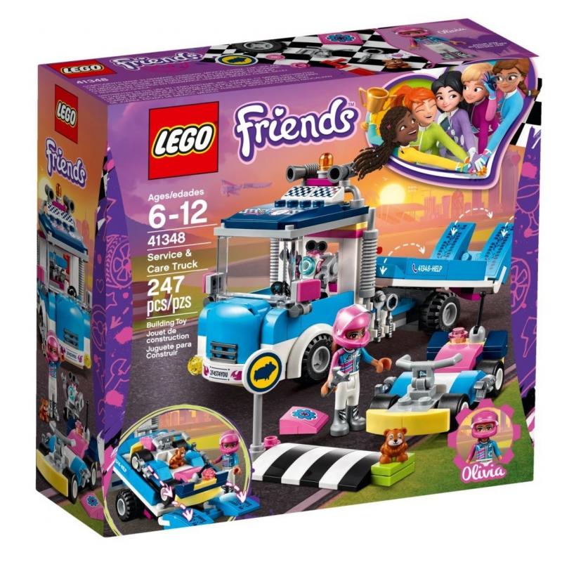 Camion di servizio e manutenzione - Lego Friends 41348