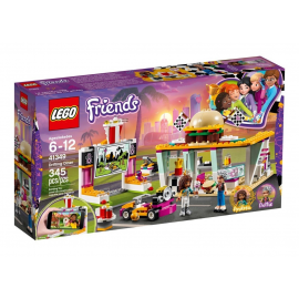 Il fast-food del go-kart - Lego Friends 41349