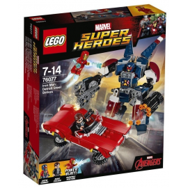 Iron Man: l'attacco di Detroit Steel - Lego Marvell Super Heroes 76077