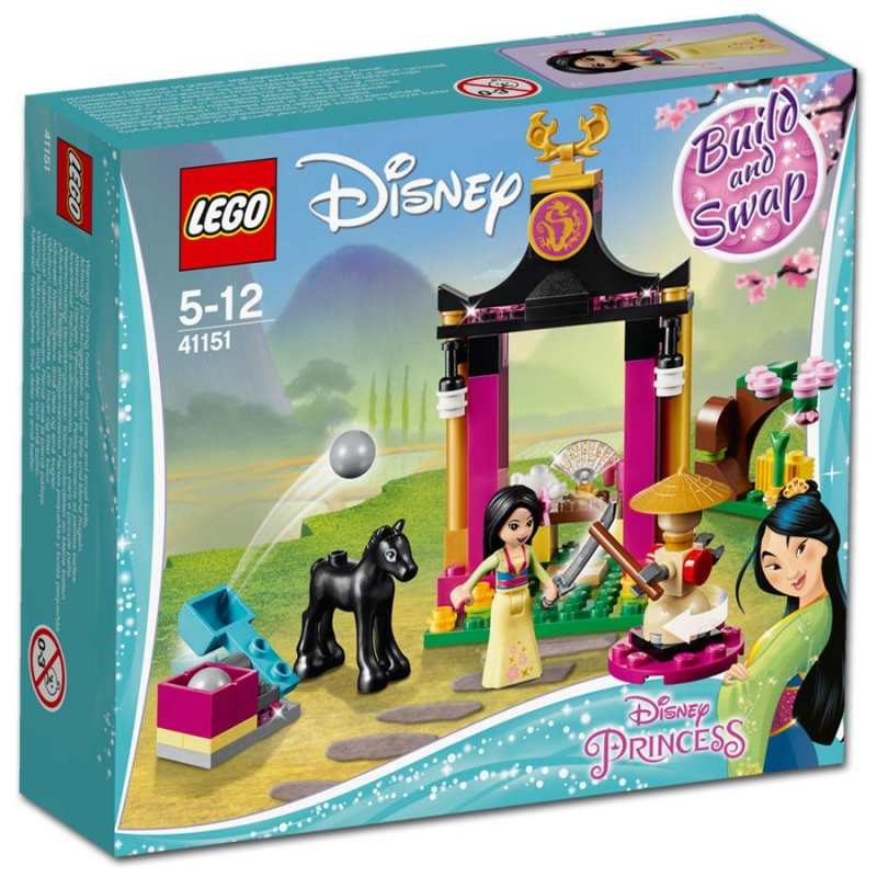 La giornata di addestramento di Mulan - Lego Disney 41151
