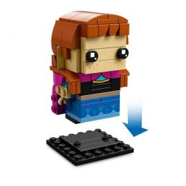 Anna e Olaf - Lego Brick Headz 41618