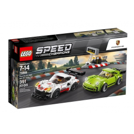 Porsche 911 RSR e 911 Turbo 3.0 - Lego Speed Champions 75888