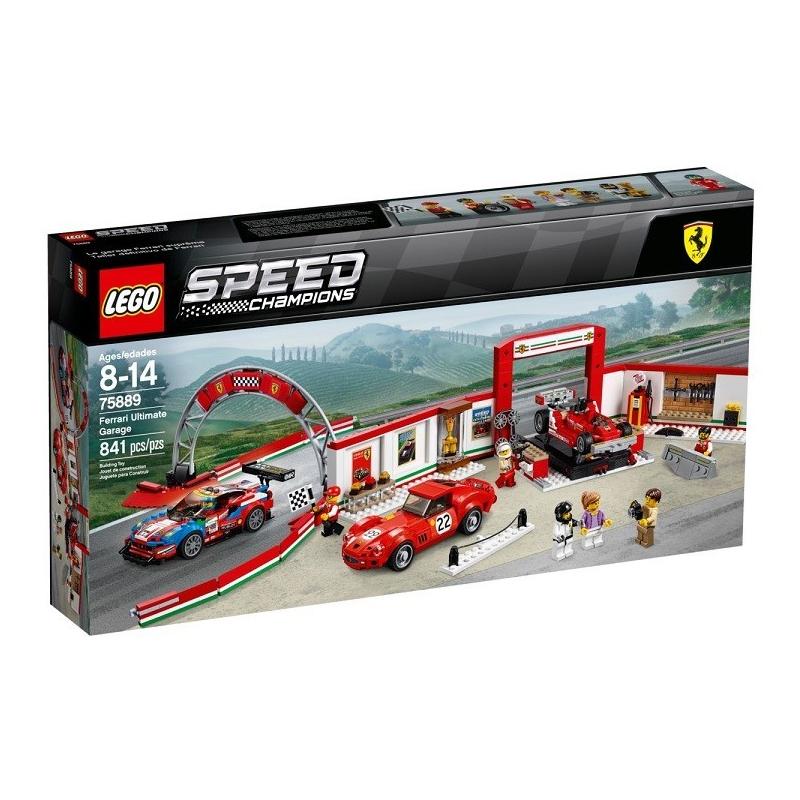 Garage Ferrari - Lego Speed Champions 75889