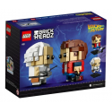 Marty McFly e Doc Brown - Lego Brick Headz 41611