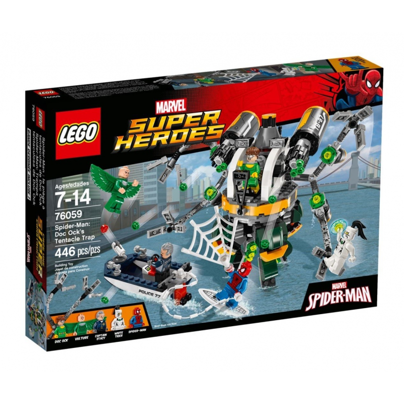 Spider-Man: la trappola tentacolare di Doc Ock - LEgo Marvel Super Heroes 76059