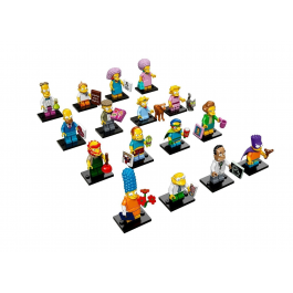 Minifigures The Simpsons Serie 2.0 - Lego 71009
