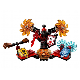 Ultimate Generale Magmar - Lego Nexo Nights 70338