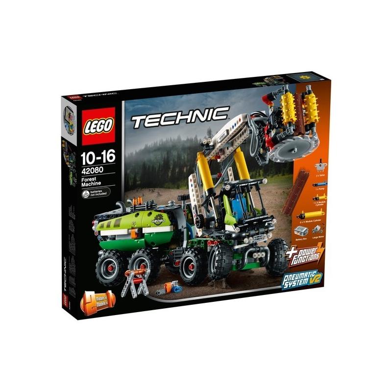 Macchina forestale - Lego Technic 42080