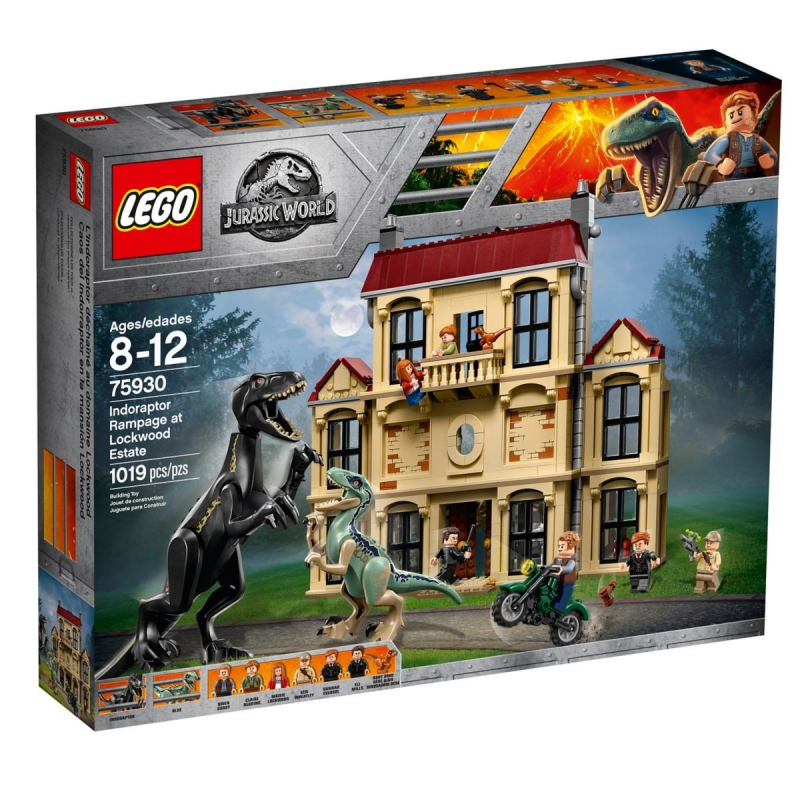 Attacco dell'Indoraptor al Lockwood Estate - Lego Jurassic World 75930
