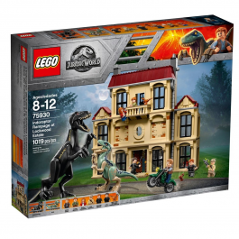Attacco dell'Indoraptor al Lockwood Estate - Lego Jurassic World 75930