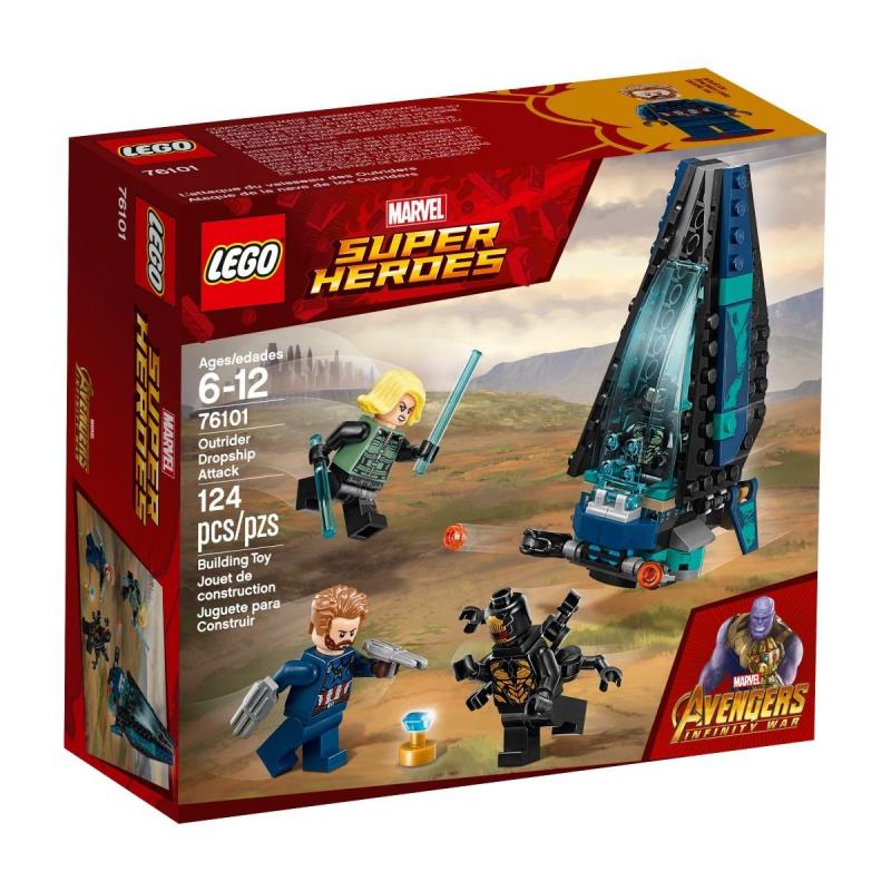 L'attacco della Dropship degli Outrider - Lego Marvel Super Heroes 76101