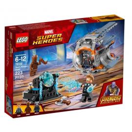 La ricerca dell'arma suprema di Thor - Lego Marvel Super Heroes 76102