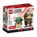 Luke Skywalker™ e Yoda™ - Lego Brick Headz 41627