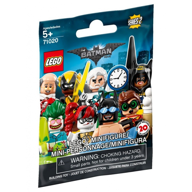 Minifigures The Lego Batman Movie 2 - Lego 71020