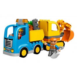 Camion e scavatrice cingolata - Lego Duplo 10812