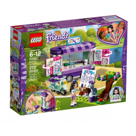 Lo stand dell'arte di Emma - Lego Friends 41332