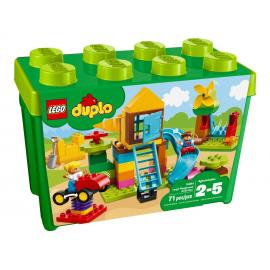 La mia grande scatola di mattoncini - Parco giochi - Lego Duplo 10864