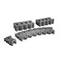 Binari flessibili e rettilinei - Lego City 7499