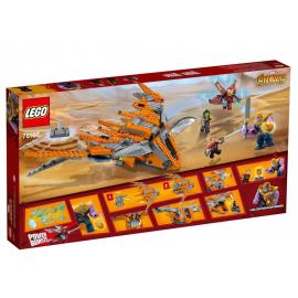 Thanos: la battaglia finale -Lego Marvel Super Heroes 76107