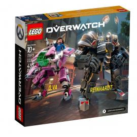 D.Va e Reinhardt - Lego Overwatch 75973