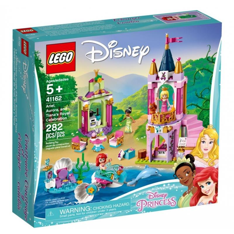 I festeggiamenti reali di Ariel, Aurora e Tiana - Lego Disney 41162
