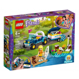 Il buggy con rimorchio di Stephanie - Lego Friends 41364
