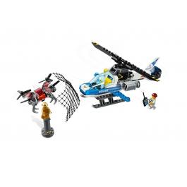 Polizia aerea all'inseguimento del drone - LEgo City 60207