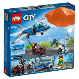 Arresto con il paracadute della Polizia aerea - Lego City 60208
