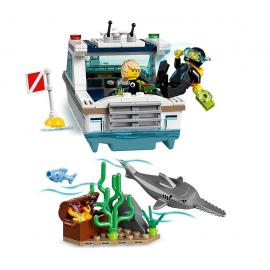 Yacht per immersioni - Lego City 60221