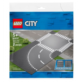 Curva e incrocio - Lego City 60237