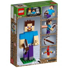 Maxi-figure Minecraft di Steve con pappagallo - Lego Minecraft 21148