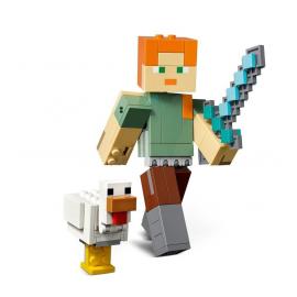 Maxi-figure Minecraft di Alex con gallina - Lego Minecraft 21149