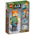 Maxi-figure Minecraft di Alex con gallina - Lego Minecraft 21149
