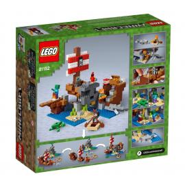 Avventura sul galeone dei pirati - Lego Minecraft 21152